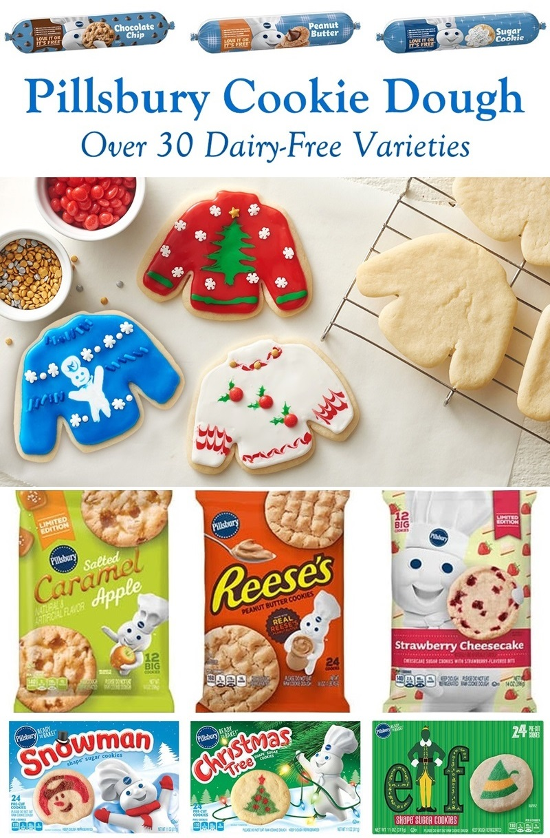 Pillsbury Cookie Dough Comes in All These Dairy-Free Varieties! Reviews, Ingredients & Full Details.