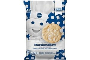 Pillsbury Cookie Dough Comes in All These Dairy-Free Varieties! Reviews, Ingredients & Full Details. Pictured: Pillsbury Marshmallow Cookie Dough