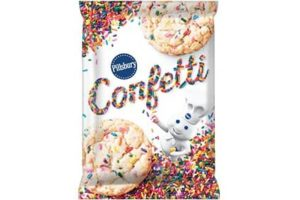 Pillsbury Cookie Dough Comes in All These Dairy-Free Varieties! Reviews, Ingredients & Full Details. Pictured: Pillsbury Confetti Cookie Dough