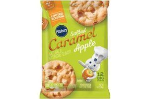 Pillsbury Cookie Dough Comes in All These Dairy-Free Varieties! Reviews, Ingredients & Full Details. Pictured: Pillsbury Caramel Apple Cookie Dough