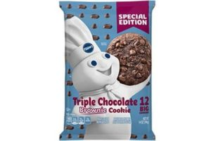 Pillsbury Cookie Dough Comes in All These Dairy-Free Varieties! Reviews, Ingredients & Full Details. Pictured: Pillsbury Triple Chocolate Brownie Cookie Dough