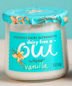 Oui Dairy Free Yogurt Alternative Reviews & Info - This plant-based line is Creamy Cultured Coconut on Top, Fruit on the Bottom (Vanilla Pictured)