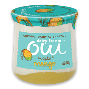 Oui Dairy Free Yogurt Alternative Reviews & Info - This plant-based line is Creamy Cultured Coconut on Top, Fruit on the Bottom