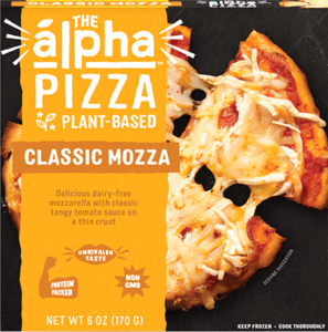 The Alpha Pizza Personal-Size Vegan Frozen Pizzas - Review and Information (plant-based and dairy-free)