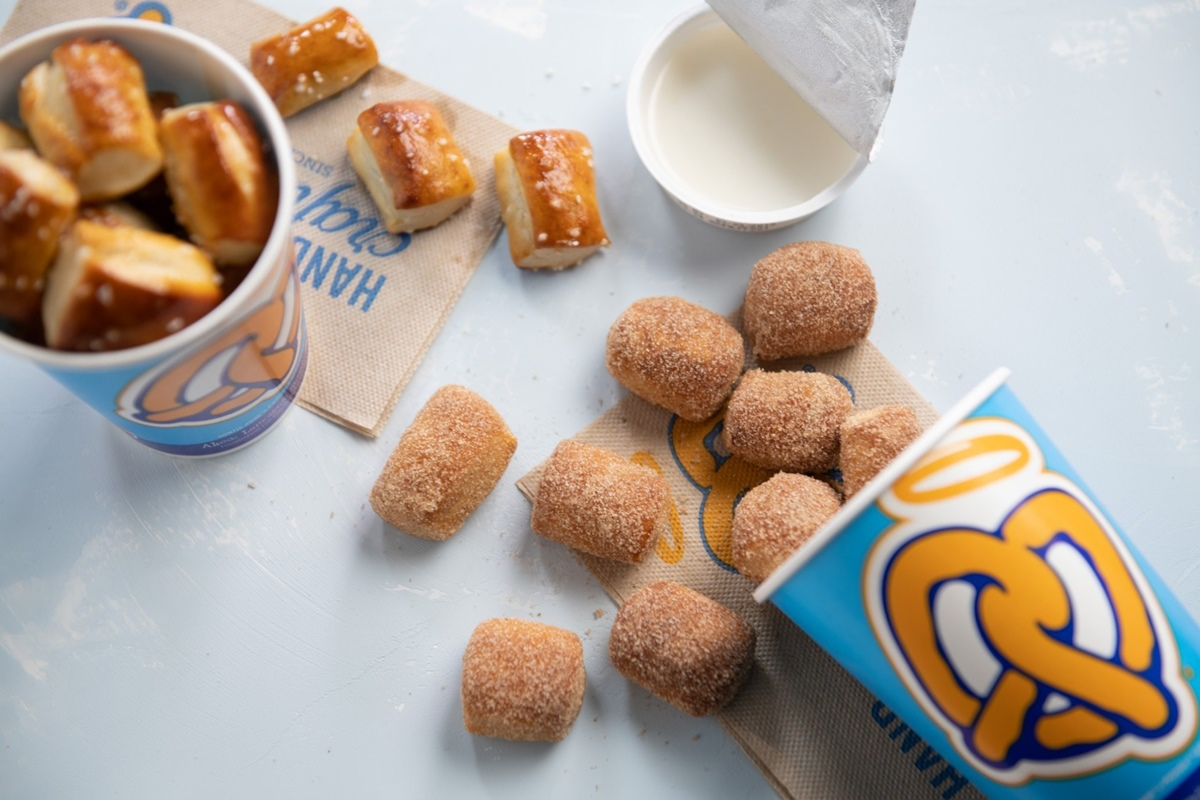 Auntie Anne's Dairy-Free Menu Guide with Vegan Information and Custom Order Tips