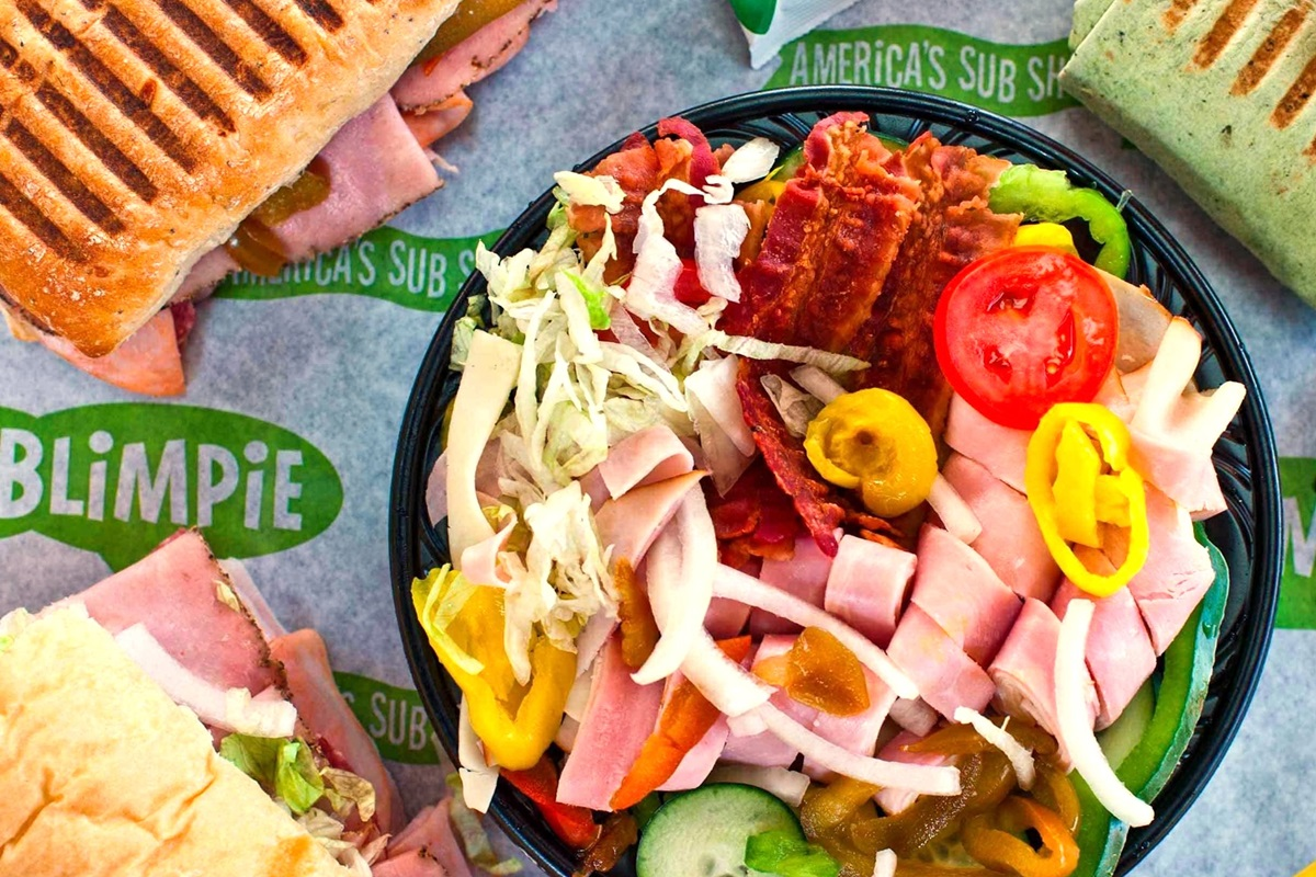 Blimpie Dairy-Free Menu Guide with Allergen Notes - Subs, Wraps, Salads, and More
