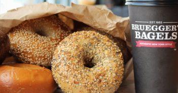 Bruegger's Bagels Dairy-Free Menu Guide with Custom Order Details and Vegan Options