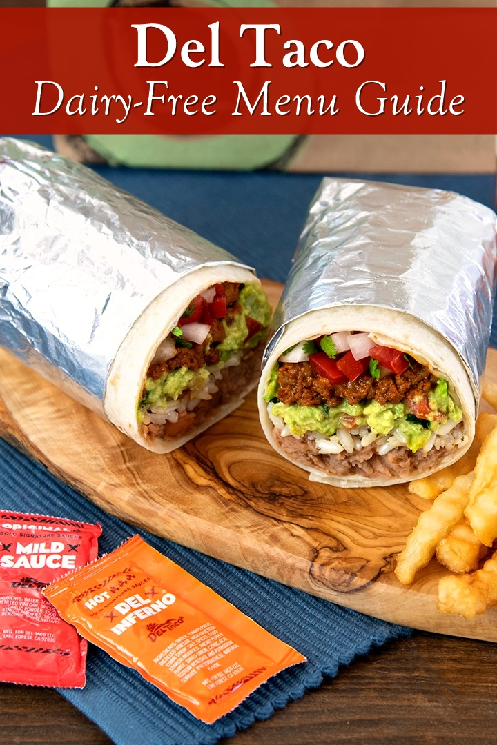 Dairy-Free Menu Guide to Del Taco with Vegan Options and Allergen Notes