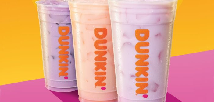 Dunkin' – Now Offering a Trio of Dairy-Free Milks, Plus Savory Eats