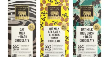 Endangered Species Oat Milk Chocolate Bars Reviews and Information (Dairy-Free, Gluten-Free, Vegan - Three 55% cacao varieties: Zebra, Bumble Bee, Gorilla)
