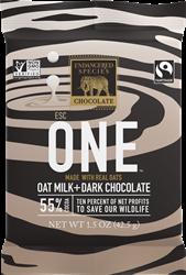 Endangered Species Oat Milk Chocolate Bars Reviews and Information (Dairy-Free, Gluten-Free, Vegan - Three 55% cacao varieties: Zebra, Bumble Bee, Gorilla)