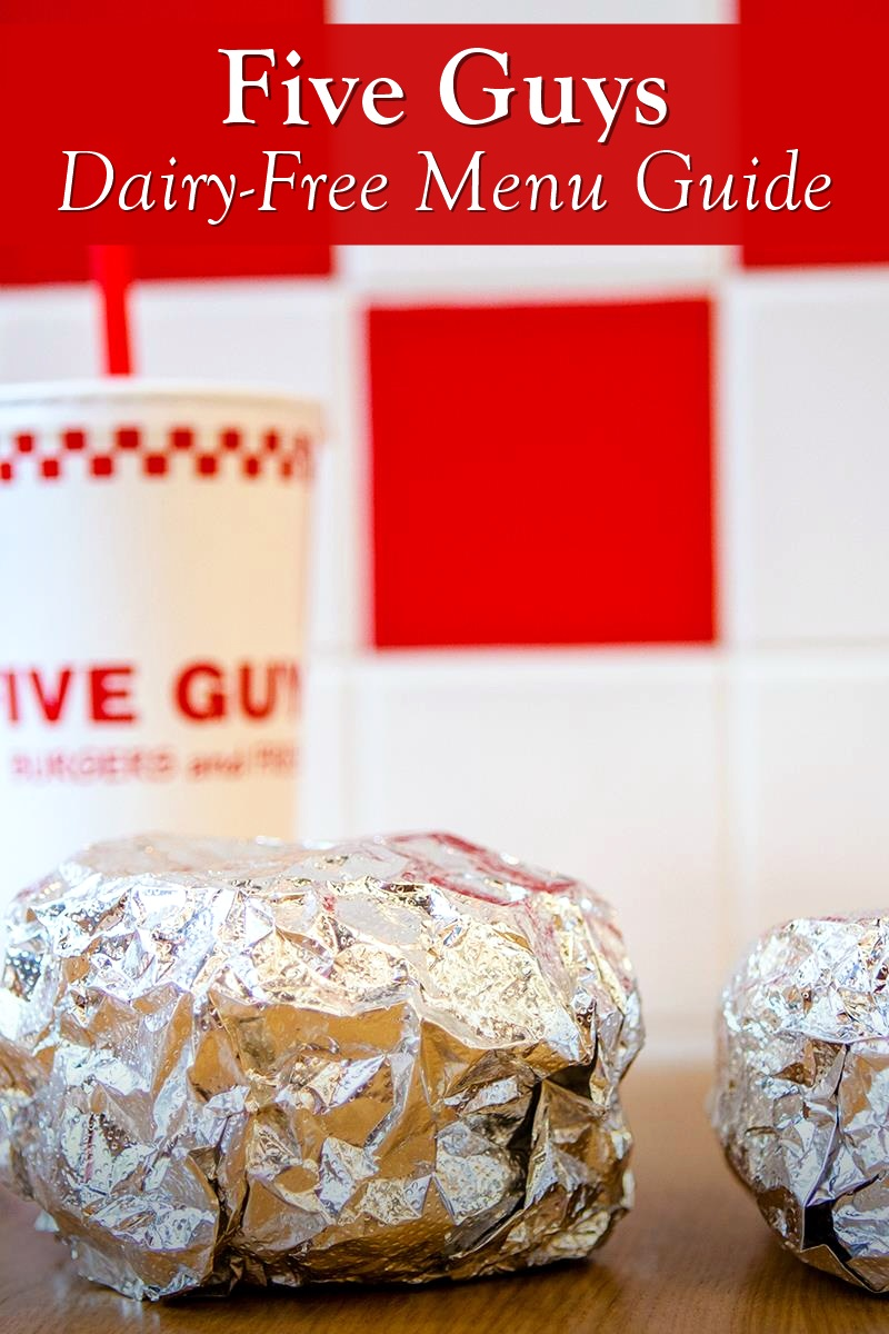 Five Guys Dairy-Free Menu Guide
