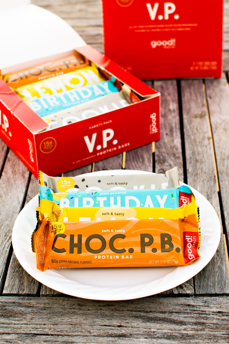 Good! Protein Bars Reviews and Information - vegan, gluten-free, dairy-free, high-protein, and high fiber! Several sweet flavors. Full details here ...