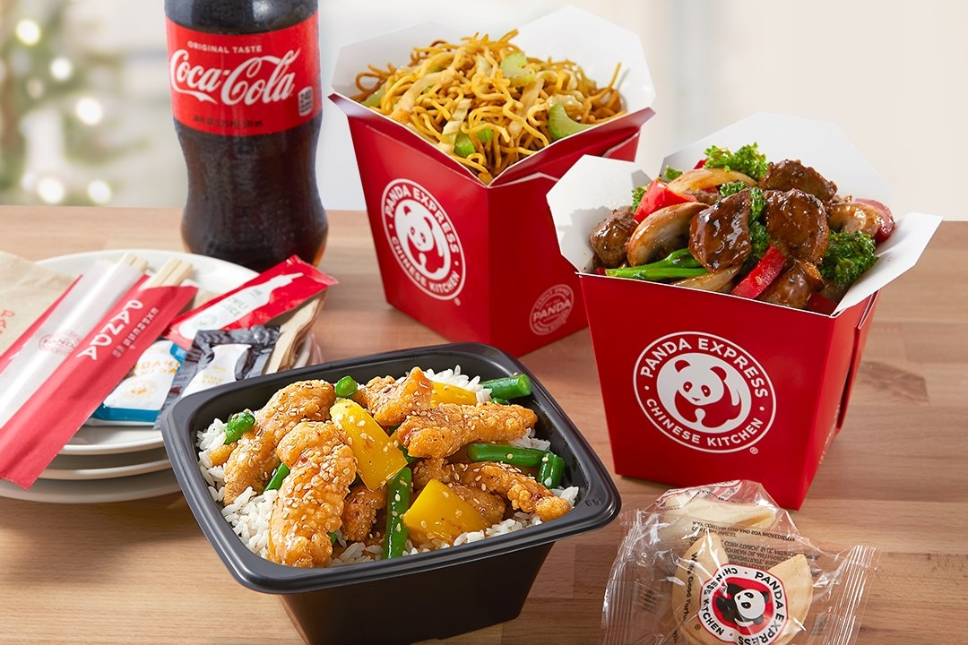 Panda Express Dairy-Free Menu Guide with egg-free, soy-free, and vegan options and allergen notes