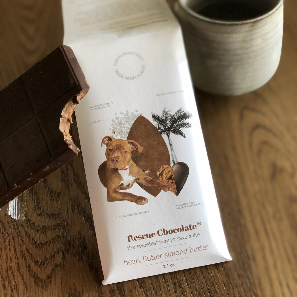 Guide to the Best Dairy-Free Valentine Chocolate: Over 20 Chocolatiers with Vegan, Gluten-Free, Food Allergy-Friendly, Organic, Fair Trade and more! Pictured: Rescue Chocolate