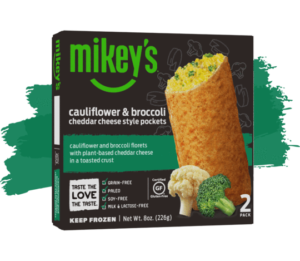 Mikey's Pizza Pockets Reviews and Information (Dairy-Free, Gluten-Free, Grain-Free, and Paleo). We have full details on all 5 varieties! Pictured: Cauliflower and Broccoli