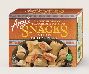 Amy's Vegan Pizza Snacks Reviews and Information (Dairy-Free, Soy-Free, includes the Margherita Swirls!)