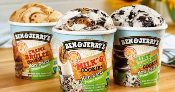 Ben & Jerry's Non-Dairy Frozen Dessert Launches in New Sunflower Seed Butter Flavors, New Vegan Mini Cups, and a New Scoop Shop Only Flavor
