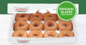 Krispy Kreme Vegan Doughnuts in the United Kingdom