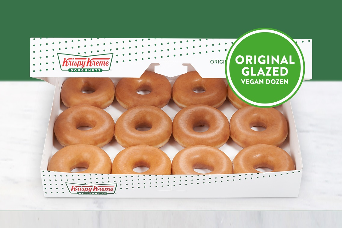 Krispy Kreme Vegan Doughnuts in the United Kingdom