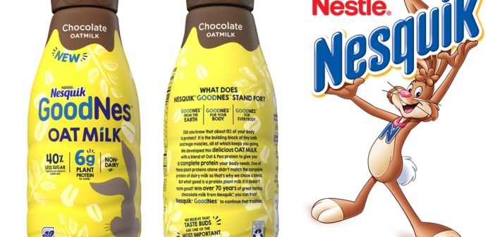 Nesquik GoodNes Oatmilk is a Non-Dairy Dose of Chocolate Nostalgia