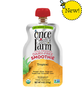 Once Upon a Farm Super Smoothies Reviews and Information (Dairy-Free, No Added Sugar, Jennifer Garner Company).