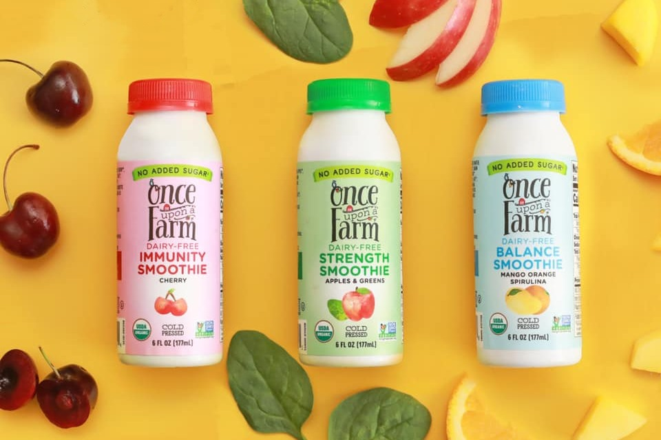 Once Upon A Farm Probiotic Dairy Free Smoothies Reviews Info