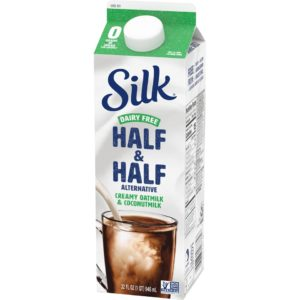 Silk Dairy Free Half & Half is a Creamy Oat and Coconutmilk Alternative (Reviews and Information; Vegan, Soy-Free and Keto Product)