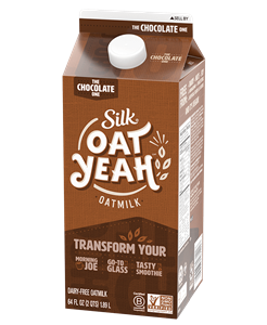 Silk Oat Yeah Oatmilk Review with Ingredients, Allergen Info an More. Plus, leave your own rating! Dairy-free, plant-based, nut-free, and soy-free. Pictured: The Chocolate One