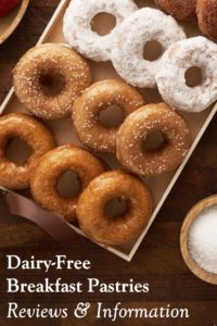 Dairy-Free Breakfast Pastry Reviews and Information - Donuts, Muffins, Waffles, and More!