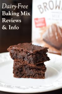 Dairy-Free Baking Mix Reviews and Information - Consumer Ratings, Ingredients, Availability, and More for everything from Pancakes to Birthday Cakes (Vegan and Allergy-Friendly options)