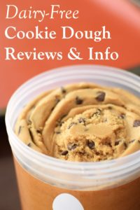 Dairy-Free Cookie Dough Product Reviews and Information - full listings, ratings, and more for non-dairy, vegan, and even gluten-free brands.