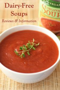 Dairy-Free Soup and Chili Product Reviews and Information with Vegan Options
