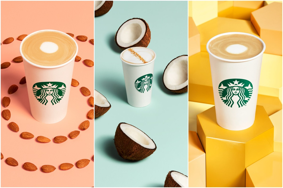 Starbucks Honey Latte Line is non-dairy (dairy-free by ingredients)