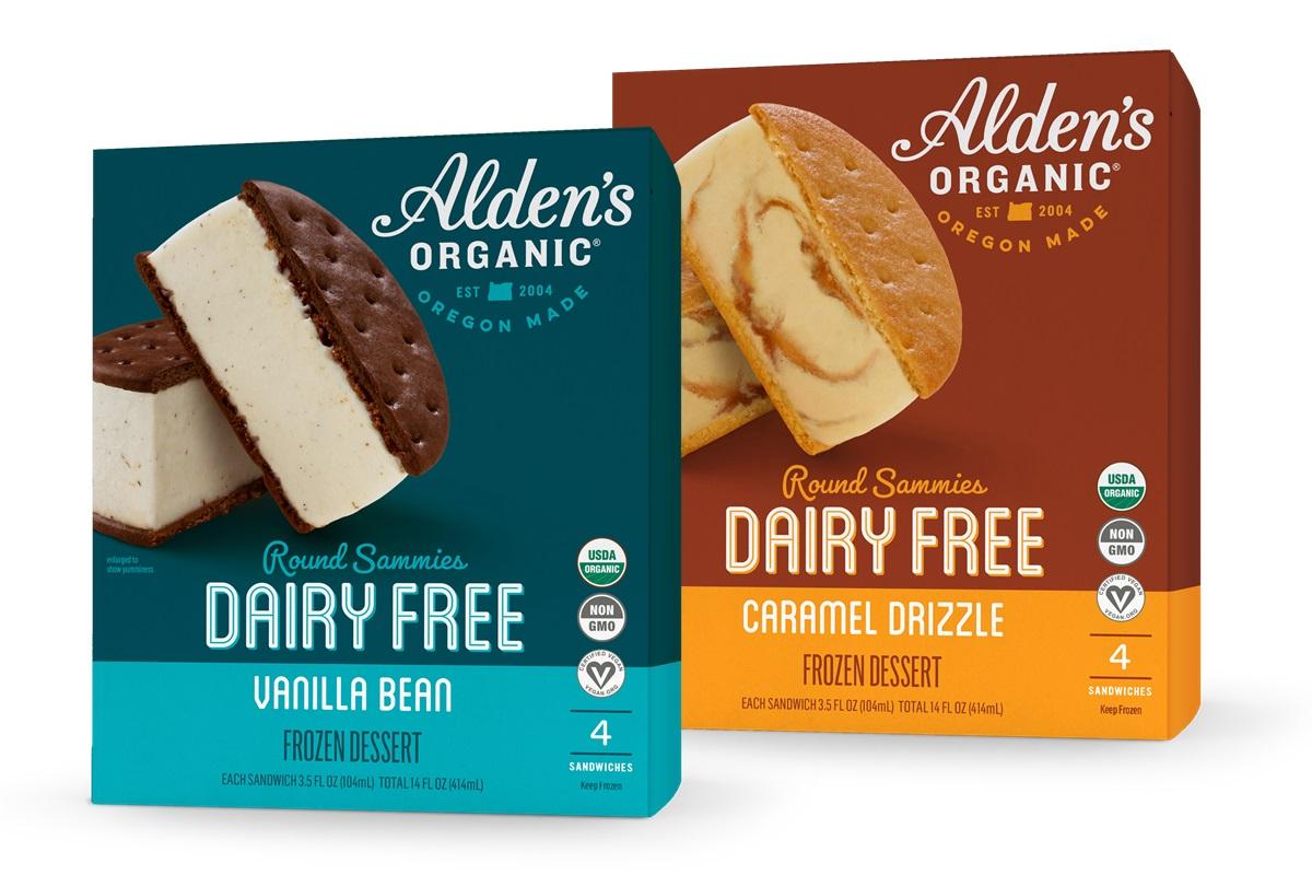 Alden's Organic Dairy-Free Ice Cream Sammies Reviews & Info