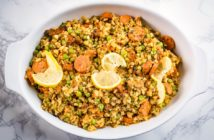 Cauliflower Jambalaya Recipe - Plant-Based, Gluten-Free, Low Carb, Grain-Free and Healthy! Optionally Paleo.