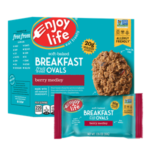 Enjoy Life Breakfast Ovals Reviews and Information (Vegan, Gluten-Free, Nut-Free, Dairy-Free, Soy-Free Oat Bars)
