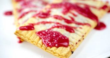 Mini Raspberry Hand Pies or Pop Tarts Recipe made with Real Fruit - Vegan, Dairy-Free, Egg-Free, Nut-Free, Soy-Free, with Gluten-Free Option. Includes Freezing instructions.