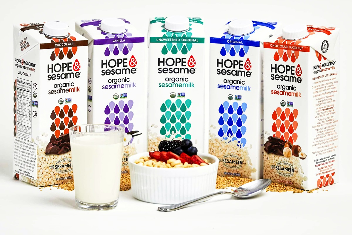 Hope & Sesame Sesamemilk Reviews and Information - Ingredients, Nutrition, Availability, and more for this dairy-free, vegan milk beverage line