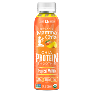 Mamma Chia Protein Smoothies Reviews and Information - made with Chiamilk. Dairy-free, vegan, soy-free, and rich in protein, MCT, and Omega-3.