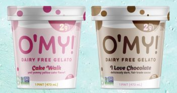 O'My Low Sugar Gelato Reviews and Info! This dairy-free, gluten-free, soy-free, vegan ice cream has just 2 grams of sugar per 2/3 cup serving!