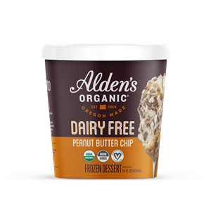 Alden's Dairy-Free Ice Cream Launches in Seven Flavors. We have the full details and ratings on these vegan pints. Pictured: Peanut Butter Chip