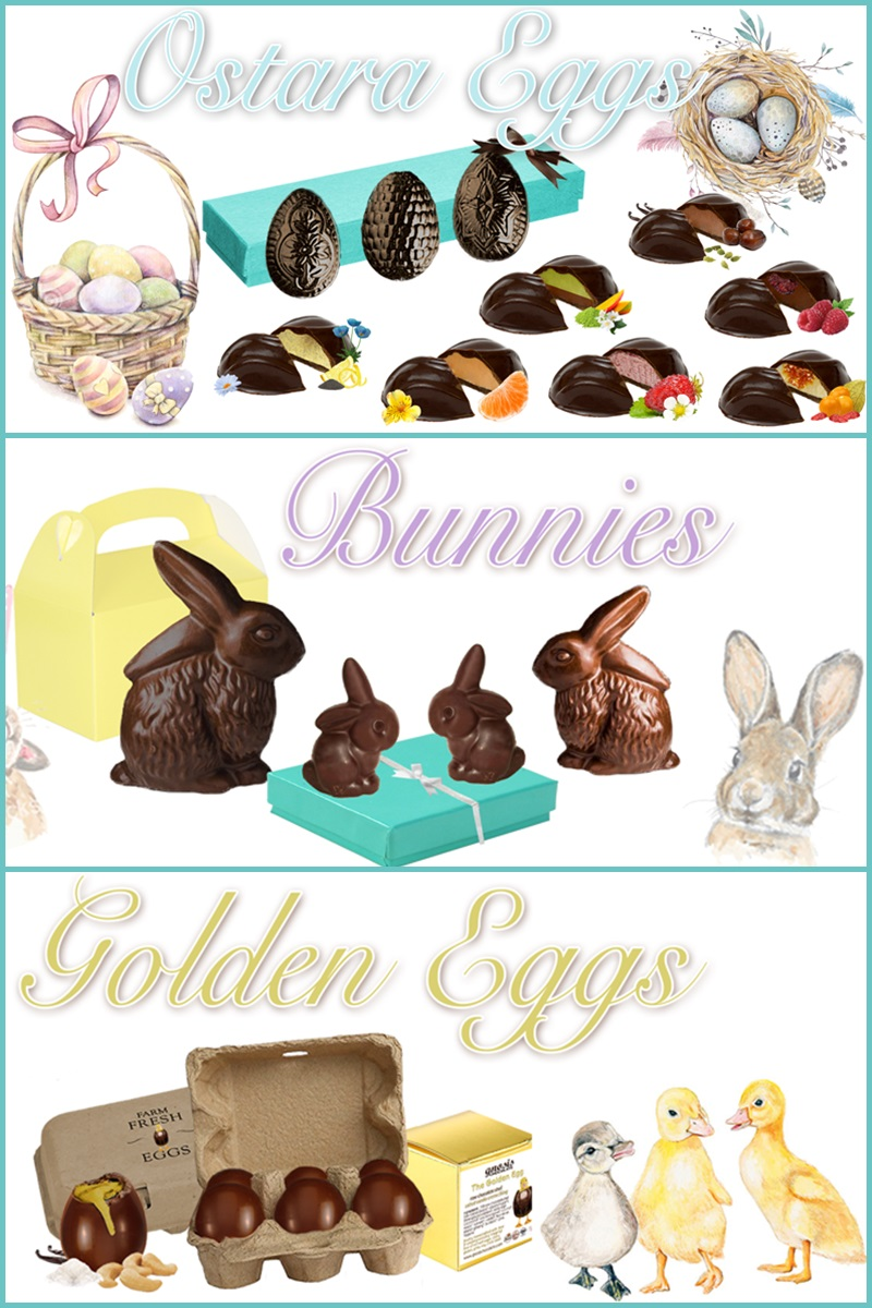 The Big Dairy-Free and Vegan Easter Bunny and More Chocolate Round-Up (Updated Annually! Includes options for gluten-free, nut-free and soy-free - US and Canada). Pictured: Gnosis Raw Chocolates