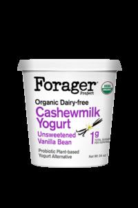 Forager Cashewmilk Yogurt in Unsweetened Vanilla