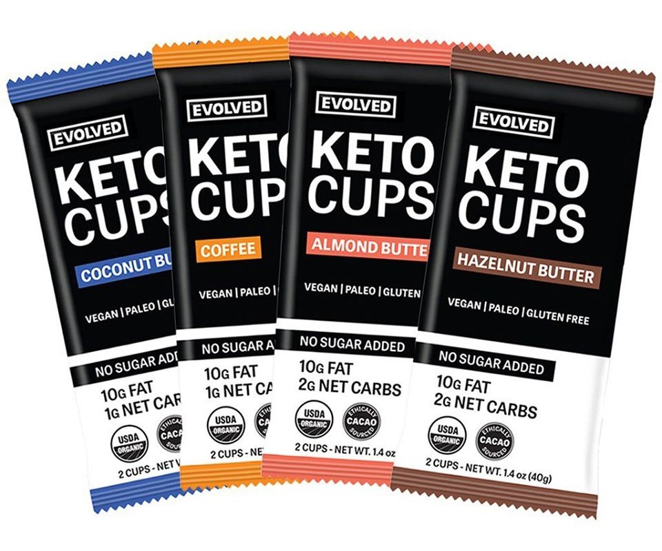 Guide to Dairy-Free Peanut Butter Cups, Nut Butter Cups, Seed Butter Cups, and More (with Vegan, Allergy-Friendly, Paleo, and Keto Options) Pictured: Evolved Keto Cups