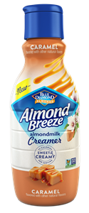 Almond Breeze Almondmilk Creamer Review and Information - dairy-free, soy-free, vegan coffee creamer in two varieties. We have all the details!