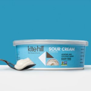 Kite Hill Sour Cream Reviews and information. (Dairy-free, Vegan, Soy-free, Gluten-free, Plant-based