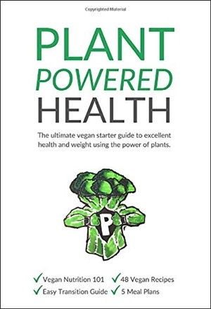Plant Powered Health Book by Lisa Goodwin