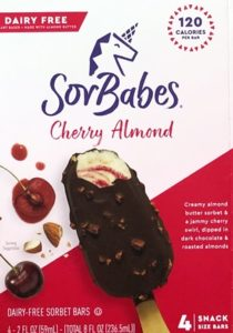 Sorbabes Bars Reviews & Info (Dairy-Free and Vegan Chocolate Crunch Covered Sorbet Ice Cream Bars)