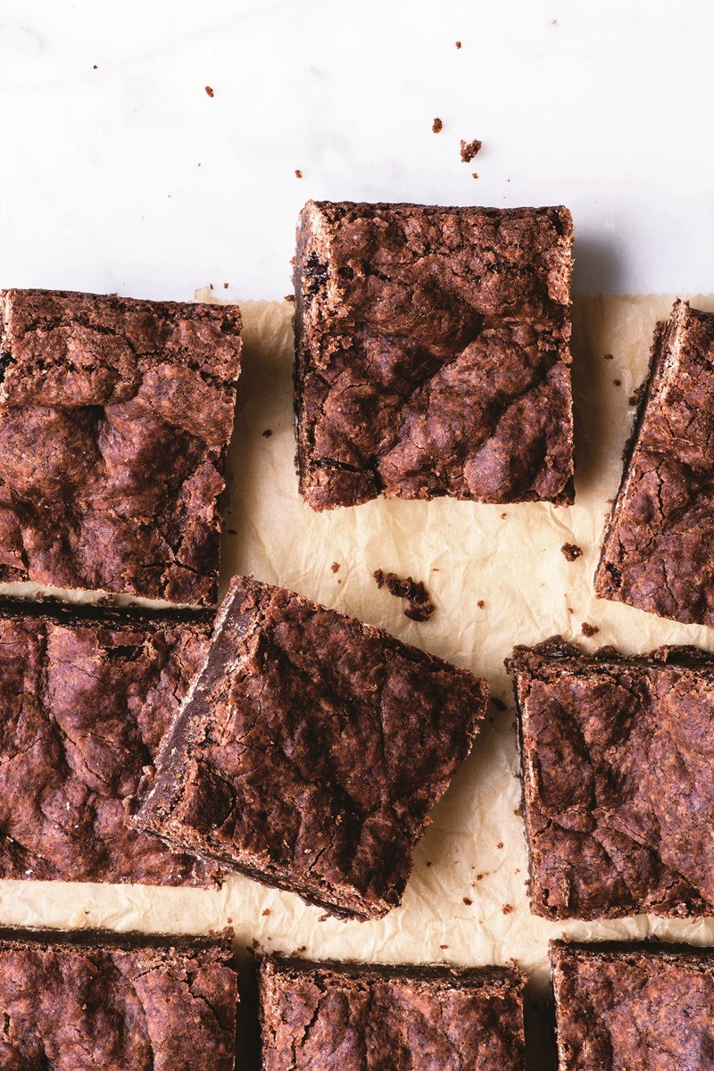 Crackly Vegan Brownies Recipe Made With Melted Dairy Free Chocolate
